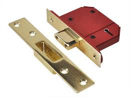 You should get a five lever mortise lock